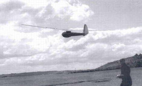 First flight of the Chilton Olympia, August 15th 1946.